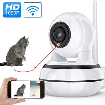 AIIYME Cat Camera With Interactive Laser