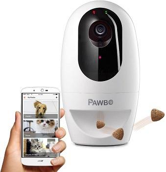Pawbo Life Cat Camera Treat Dispenser review (2)