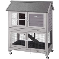 Aivituvin Indoor Wooden Ferret Cage Summary
