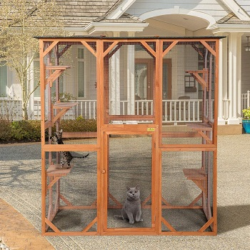 BWM.Co Outdoor Wooden Cage