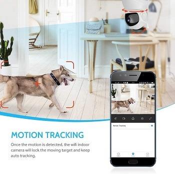 Deatti Wireless Pet Camera