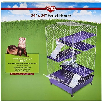 Kaytee Multi-Level Ferret Cage Review