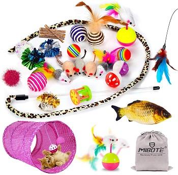 Mibote 28 Pcs Toys Pack