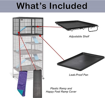 Midwest Homes Deluxe Ferret Cage Review