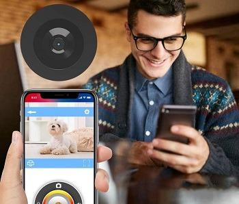NPET Treat Dispenser Dog Camera