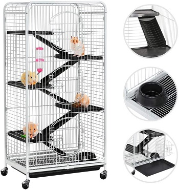 Topeakmart tall ferret cage