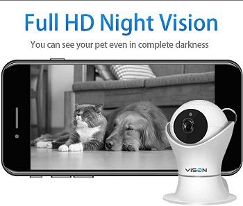 VINSION Dog Monitor Camera