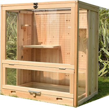 Wooden Indoor Ferret Cage