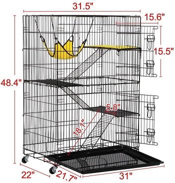 Yaheetech Enclosure For Ferrets Review