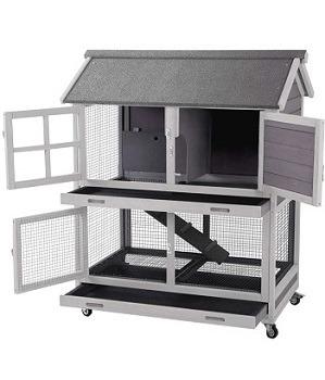 Aivituvin Indoor Wooden Ferrets Cage Review