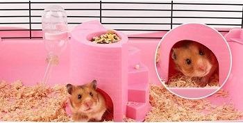 JPSOUP Plastic Hamster House