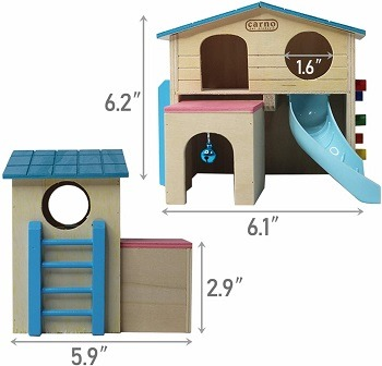 Kathson Hideout Hamster House Review