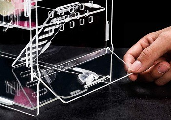 LLY Acrylic Cage Hamster Terrarium Review