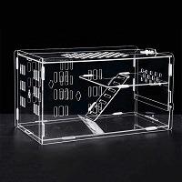 LLY Acrylic Cage Hamster Terrarium Summary