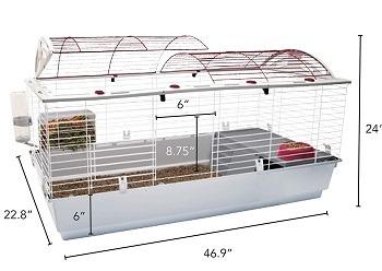 Living World Deluxe Habitat White Cage