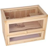 Lonabr Wooden Cage Hamster Terrarium Summary