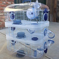 Mcage Cage For Hamsters Summary