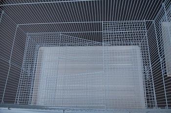 Mcage Winter White Hamster Habitat