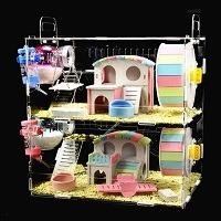 NXL Acrylic Cage Tank Terrarium Hamster Summary