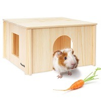 Pawchie Wooden House For Hamsters Summary