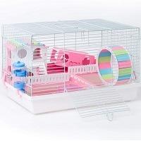 Robud White Hamster Habitat Summary
