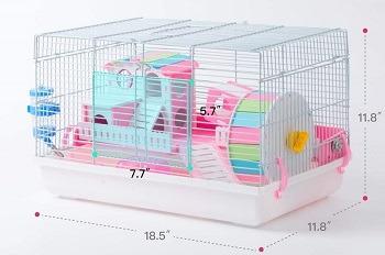 Robud White Hamster Habitat
