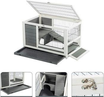 U-Max Wooden Ferrets House