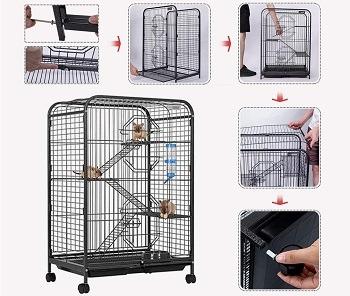VivoHome Outdoor Indoor Cage