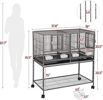 Yaheetech Rat Cage Breeding Review