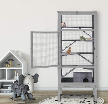 Aivituvin Tall Hamster Hutch Review