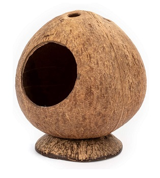 Andwe Coconut Hut Hamster House Review