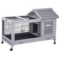 Aivituvin Wooden Small Animal Hutch Summary