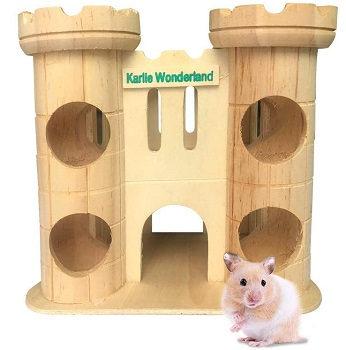 Hamiledyi Cute Hamster Home