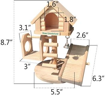 Hamiledyi Small Hamster House Review