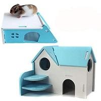 Hamiledyi Wooden Hamster Hideout Summary