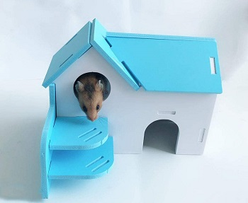 Hamiledyi Wooden Hamster Hideout