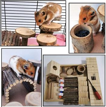 Hamiledyi Large Hamster Playground