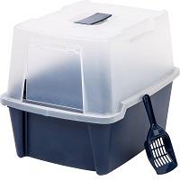 IRIS Large Hooded Litter Box Summary