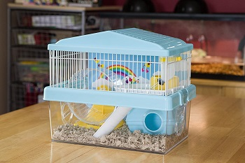 Iris Deluxe Hamster Cage Blue Review