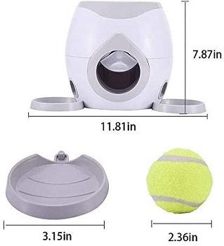 JOPETIO Automatic Dog FedderTennis Ball Dispenser Review