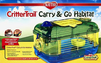 Kaytee Crittertrail Small Carry Cage Review