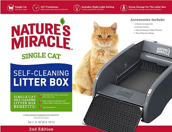 Natures Miracle Self Cleaning Litter Box