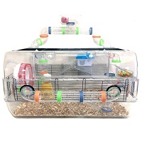 Mcage Transparent Dwarf Hamster Cage Summary