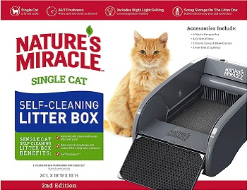 Natures Miracle Single-Cat Litter Box