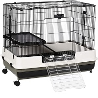 PawHut 2-Tier Compact Small Animal Cage Summary
