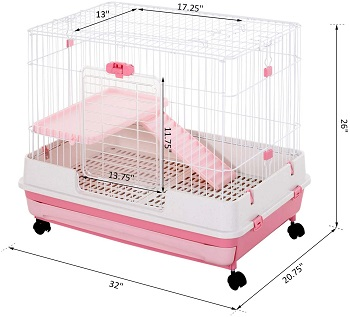 PawHut Indoor Small Animal Cage Review