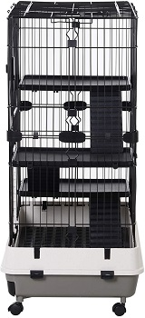 Pawhut 4-Level Cage Review