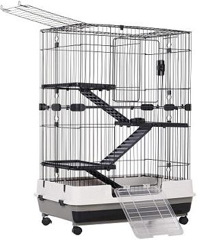 Pawhut-4-Level-Cage