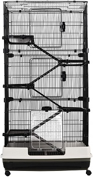 Pawhut 6-Tier Platform Cage