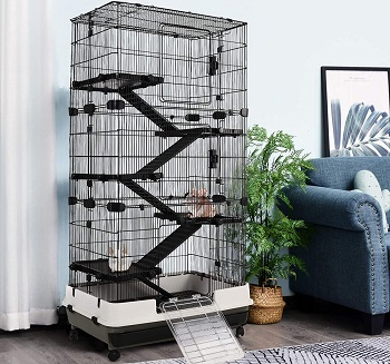 Pawhut Big Syrian Hamster Cage